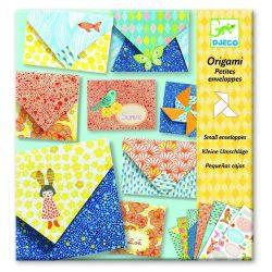 Boríték készítés - Origami - Little envelopes - Djeco