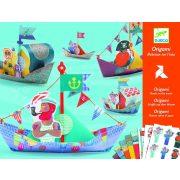 Hajó flotta - Origami - Floating boats - Djeco