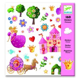 Hercegnős matrica gyűjtemény 160 db-os -  Princess Marguerite - Djeco