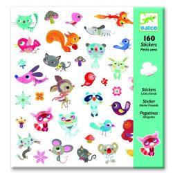 Kis barátok matrica gyűjtemény 160 db-os - Small friends - Djeco