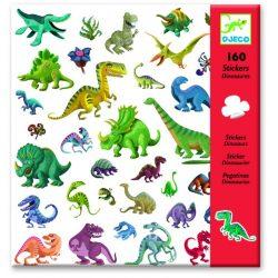 Dinoszauruszok matrica gyűjtemény 160 db-os - Dinosaurs - Djeco