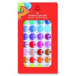 Vízfesték korongos 36 szín - 36 colours cakes - Djeco