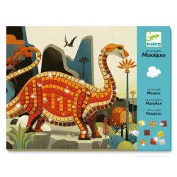 Dinoszaruszok csillogó mozaik kép készítés - Dinosaurs - Djeco