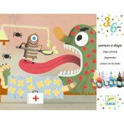 Ujjfestés kitalált figurákra - Decorate the creatures - Djeco