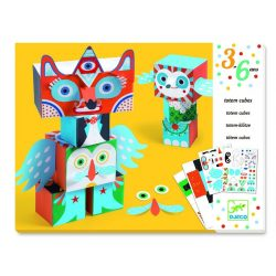 Vicces állatok - Papírszobor készítés - Funny animals - Djeco