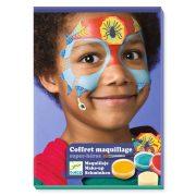 Szuperhős arcfesték 3 színű - Super heroes - Djeco