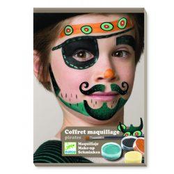 Kalóz arcfesték 3 színű - Pirate - Djeco