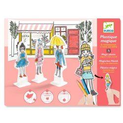 Lányok varázslatos műanyag - Zsugorodó műanyag - Best friends ever - Djeco