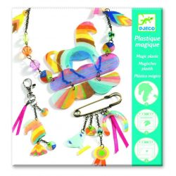 Szivárványos lovacska varázslatos műanyag - Zsugorodó műanyag - Rainbow horse - Djeco