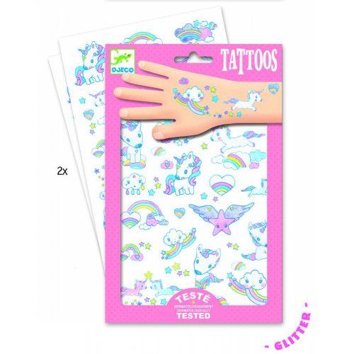 Unikornis - Tetoválás - Unicorns - Djeco