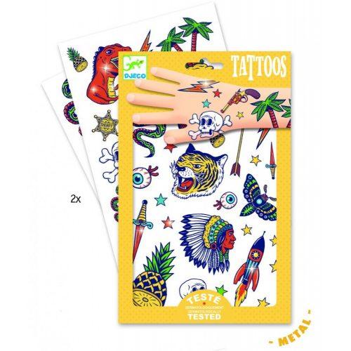 Vagány fiús - Tetoválás - Bang bang - Djeco