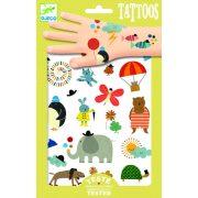 Vidám állatok - Tetoválás - Pretty little things - Djeco