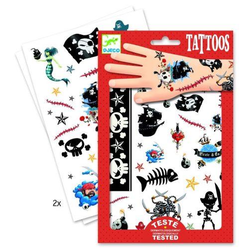 Kalózok - Tetoválás - Pirates - Djeco