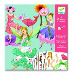 Varázslatos lányok - Képalkotás jancsiszöggel - Fairies - Djeco