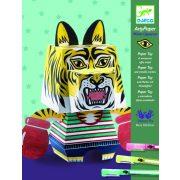 Tigris - Képalkotás hajtogatással, színezéssel - Mister Uppercut - Djeco