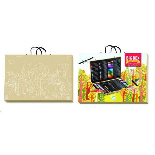 Óriás alkotó készlet a kis művészeknek - Big box of colours - Djeco
