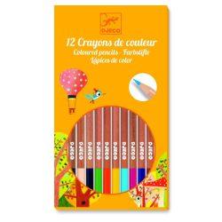 Színesceruza 12 színű - 12 pencils - Djeco
