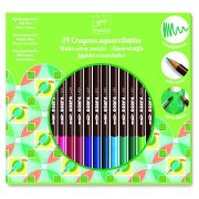 Akvarell ceruza 24 színű - 24 watercolour pencils - Djeco