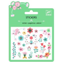 Kis virágok mini matrica - Matrica gyűjtemény - Small flowers - Djeco