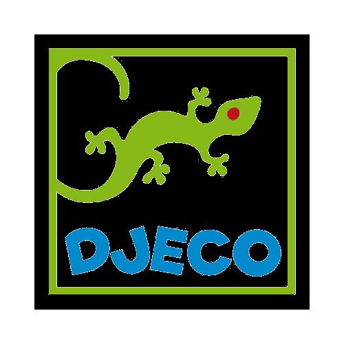 ABC mini matrica - Térhatású csillogó matrica gyűjtemény - Glitter letters - Djeco