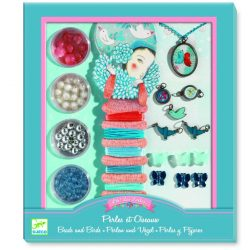 Madarak és gyöngyök - Ékszerkészítő szett - Pearls and birds - Djeco