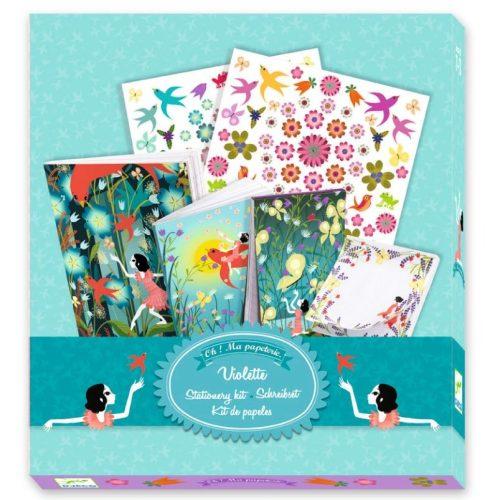 Violette titkos dolgai - My stationary - Violette - Djeco