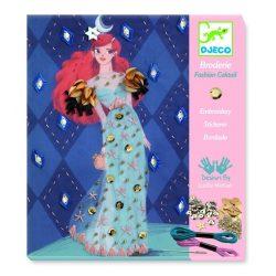 Koktél ruha - Himző és díszítő készlet - Fashion cocktail - Djeco