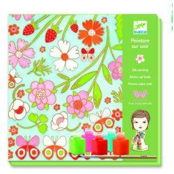 Pillangók - Selyemfestő készlet - Butterflies - Djeco