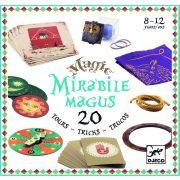 Mirabile bűvész szett - Mirabile magus - 20 tricks - Djeco