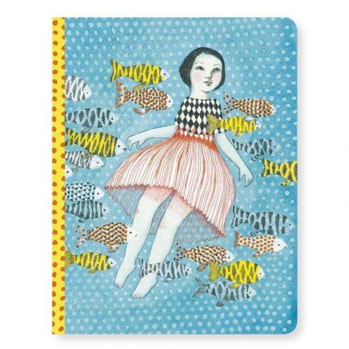 Elodie notesze - A/5 jegyzet füzet - Elodie notebook - Djeco