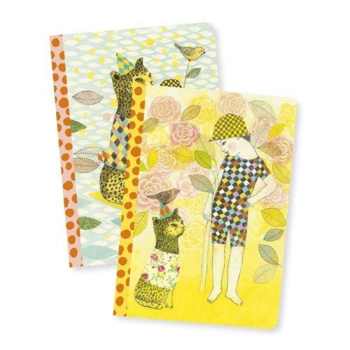 Elodie notesze - A/6 jegyzet füzet - Elodie notebook - Djeco