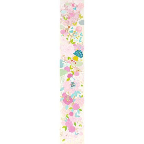 Virágos dekor tapéta - Morning dew - Djeco