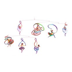 Balerina - Függődísz - Dancers - Djeco