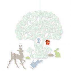 Tölgyfa - Mini függődísz - Big oak - Djeco