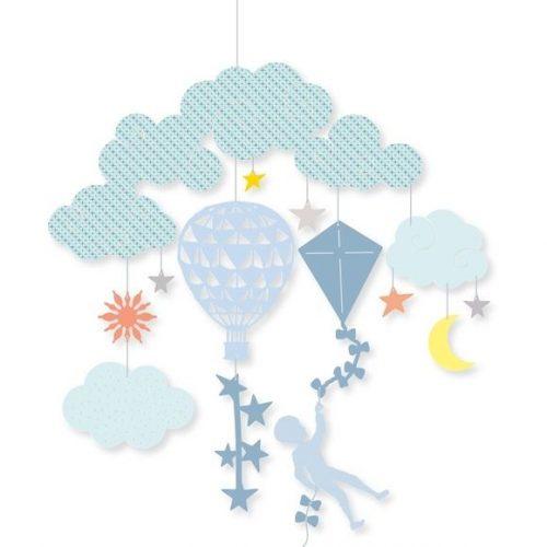 Repülő tárgyak - Mini függődísz - In the air - Djeco