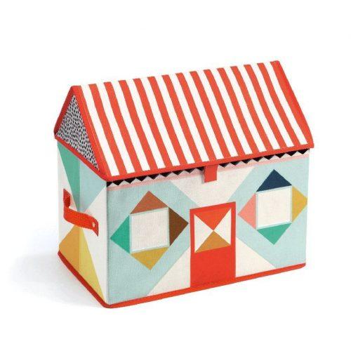 Házikó - Tároló doboz - House toy boksz - Djeco