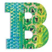 B - Pávás betű - B - Peacock - Djeco