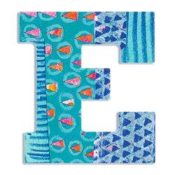 E - Pávávs betű - E - Peacock letter - Djeco