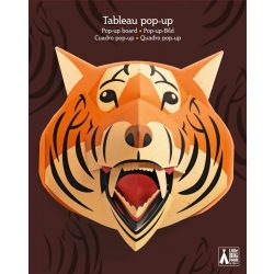 Tigris trófea - Szobadekoráció - Tigrorange - Djeco