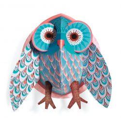 Micsoda bagoly - Szobadekoráció - Pretty Owl - Djeco