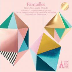 Geometriai formák - 3d függődísz - Tassels - Djeco