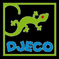 Nyuszikás gumilabda 12 cm - Sweety ball - 12 cm ø - Djeco