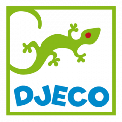 Tengeri állatok gumilabda 22 cm - Bubbles ball - 22cm ø - Djeco