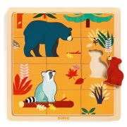 Macik - Fa puzzle 12 db-os - Puzzle Canada - Djeco