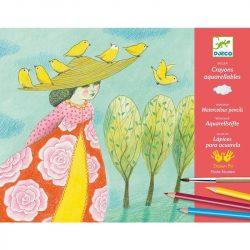 Close calls - Akvarell ceruza műhely - Close calls - Djeco