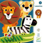 Szavanna állatai - Fűzős játék - Lassanimo - Djeco