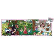 Alíz csodaországban, 50 db-os formadobozos puzzle - Alice in wonderland - 50pcs - Djeco