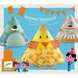 Állatos szülinapi kalap - 8 különböző állat - Animo' Rigolo - Djeco