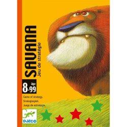 Savana - Startégiai kártyajáték - Savana - Djeco