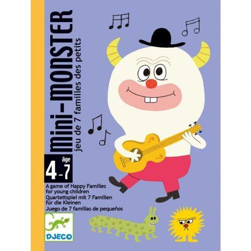 Mini Monster - Gyűjtögetős kértyajáték - Mini Monster - Djeco